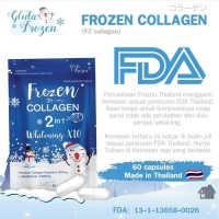 Ready FROZEN COLLAGEN 2 IN 1 WHITENING X10 BY GLUTA FROZEN 100%