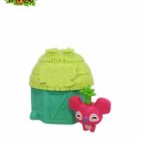 Animal Jam Adopt A Pet Series 4 Spring Cotagge Green-green
