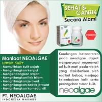 Ready NEOALGAE Spirulina Superfood ASLI Indonesia isi 60 Kapsul x