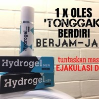 Ready hydrogel gel men