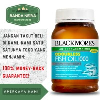 Ready Blackmores Odourless Fish Oil 200 Kapsul 1000 Mg