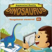 Buku Mewarnai Wizkid Ar Seri Dinosaurus