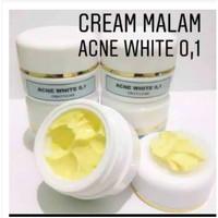 Cream malam Acne White 0.1