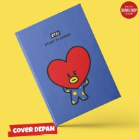 Notebook Bt21 Tata Hardcover A5 Buku Tulis Catatan Agenda Planner