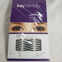 Stiker kelopak mata lipatan mata double Regular Eyelid Tape - Hitam
