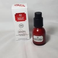 the body shop roots of strength serum 30 ml original 100% anti aging