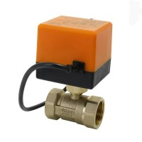 motorized actuator ball Valve 12V DC DN25 1inch 1in kran Kuni The Best