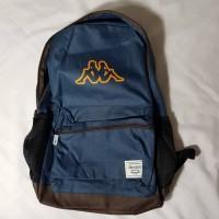 Tas Ransel Kappa Backpack dengan Laptop Sleeve KE4BT909L Biru Navy