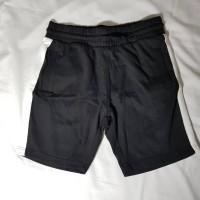 Celana Pendek Pria H&M HnM Side-stripe Sweatshirt Shorts Hitam S