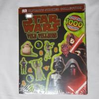 Stiker STAR WARS VILE VILLAINS ULTIMATE STICKER COLLECTION buku stiker