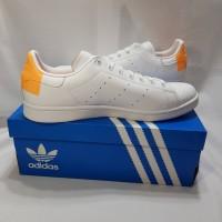 Sepatu Adidas Stan Smith Oren Originals Orange Ukuran 46 Besar Big siz