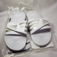 Sendal Adidas Pria Men Training Adissage Slide Putih Ukuran 46 pijet
