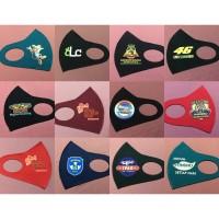 Jual Masker Scuba Custom Logo Full Color / Masker Logo ...