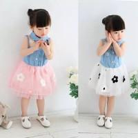 Dress Bayi Anak Perempuan Gaun Pesta Baju Pakaian Import