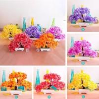 AY Tanaman Bunga Hias Plastik Plum