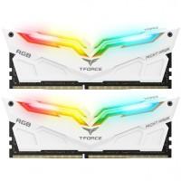 Team Memory TForce Night Hawk RGB 2x16GB PC 3600 DDR4 - White