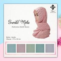 Hijab Pashmina Saudia Rawis Motif 170x90cm