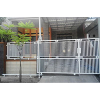 Jual Pagar Rumah Minimalis Pagar Rumah Besi Murah Motif Lurus - Putih -  Kab. Bandung Barat - Toko Las Bandung Barat | Tokopedia