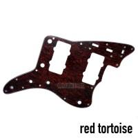 Pickguard Fender Jazzmaster Red Tortoise & White Pearl 3 ply
