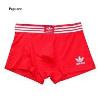 Bambu Lembut Adidas Logo Celana Boxer Brief Bahan Katun