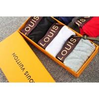 Silk Breathable Celana Boxer Bahan Katun Ice