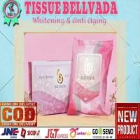 TISSUE WHITENING BELLVADA (ORI 100%) - Putih thumbnail