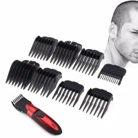 8Pcs Universal Hair Clipper Limit Comb Guide Attachment Size Barber thumbnail