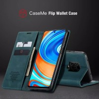 Xiaomi Redmi Note 9s Flip Case Caseme Dompet hp kulit lipat restro