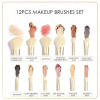 FA90 FOCALLURE 12pcs Professional Makeup Brush Set - Bevel-B thumbnail