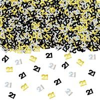 Jual 21st Birthday Confetti Decorations Supplies 1 7 Oz Silver Gold And Jakarta Utara Exborders Tokopedia