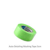 Promo!! Masking Tape Lakban Kertas Auto Detailing 3 cm 20 yards