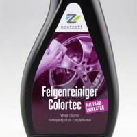 Promo!! Nextzett Felgenreiniger Colortec Wheel Cleaner 500ml