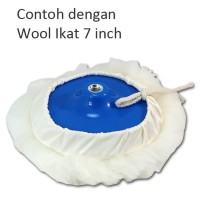 Promo!! Master Pad - Back Up Plate Wool Ikat 7 inch Baut M16