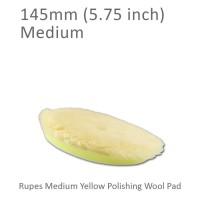 Promo!! Rupes Yellow Medium Wool Polishing Pad 6 inch 145 mm