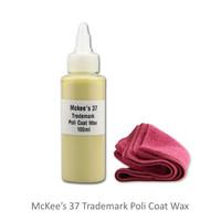 Promo!! McKees 37 Trademark Poli Coat Wax 100ml - Repack