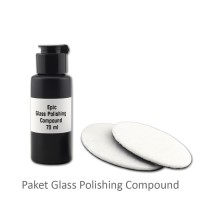Promo!! Paket Poles Kaca Baret Epic Glass Polishing Compound 70ml