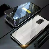 Double Glass case Magnet Xiaomi Redmi Note 9s Magnetic Front+Back