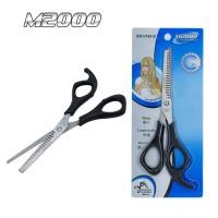 Gunting Sasak Stylish Stainless Steel Gunting salon Gunting Zigzag M thumbnail