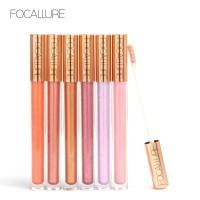FOCALLURE 12 New Arrival Shimmer Lip Gloss Waterproof Liquid FA45 - FA45-01 thumbnail