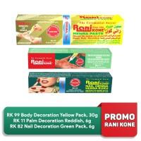 PROMO - Rani Kone Palm Decoration RK 11, Nail RK 82 and Body RK 99 thumbnail