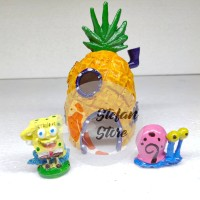 Jual Hiasan Aquarium Rumah Spongebob Kota Depok Stefanh Store Tokopedia