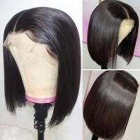Jual Msgem Straight Human Hair Wig Bob Style Brazilian Straight Hair Lace F Jakarta Utara Exborders Tokopedia