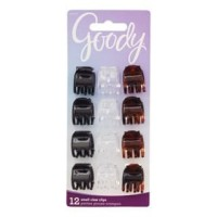Goody classic 82809 small half claw clip 12ct (Jepit Rambut) thumbnail