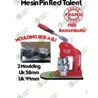 MESIN PRESS PIN RED TALENT 2 MOULDING SPECIAL PRICE Promo