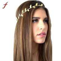 Mahkota Hiasan Bando Kepala Rambut Daun Emas Yunani Romawi thumbnail