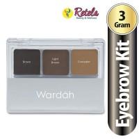 Wardah Eyexpert Eyebrow Kit 3G thumbnail
