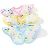 Celemek Makan Bayi Baby Slabber Bib Model Bulat Floral