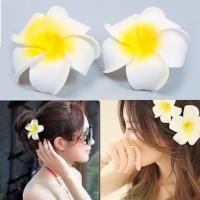 Jepit Rambut Bunga Hiasan Rambut Bunga Aksesoris Rambut Bunga J18 thumbnail