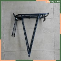 "Rear Rack Alloy 24"" mdl Kaki 2. Carrier. Pannier. Rak Belakang."