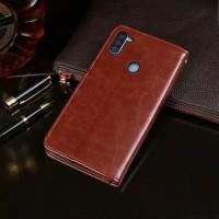 SAMSUNG Galaxy M11 Flip Case Leather Dompet hp kulit lipat restro